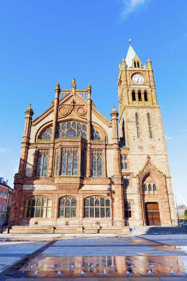 Consistorio en Derry imagenes de archivo