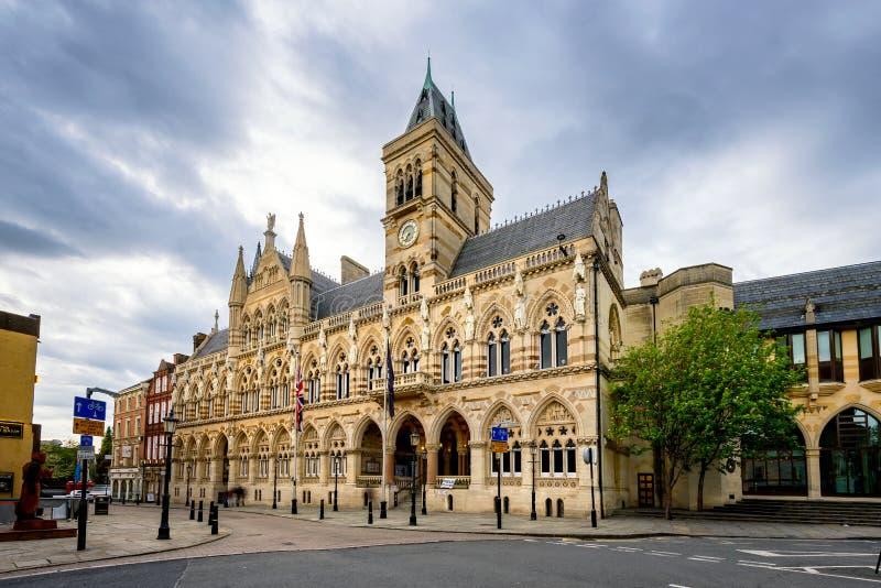 Consistorio Inglaterra Reino Unido de Northampton fotografía de archivo libre de regalías