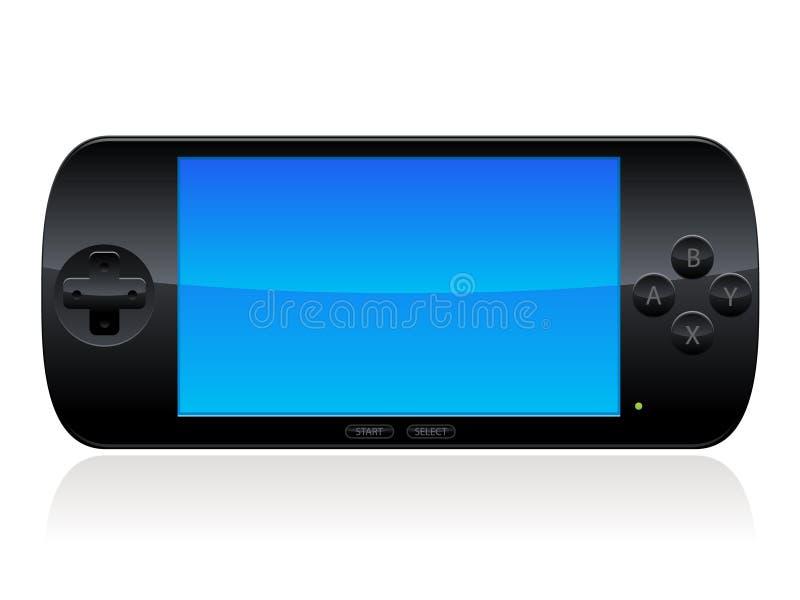 Consola de los juegos ilustración del vector