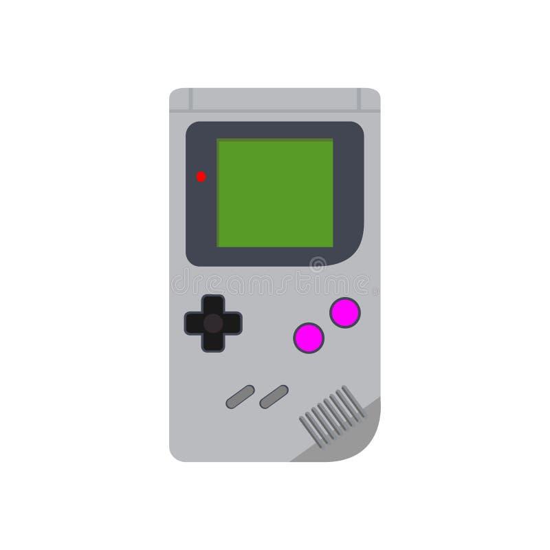 Consola portable de los juegos Ilustración del vector imágenes de archivo libres de regalías