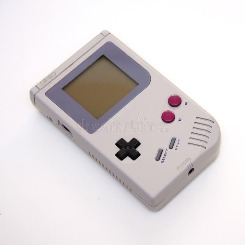 Consola portable del juego video fotos de archivo libres de regalías