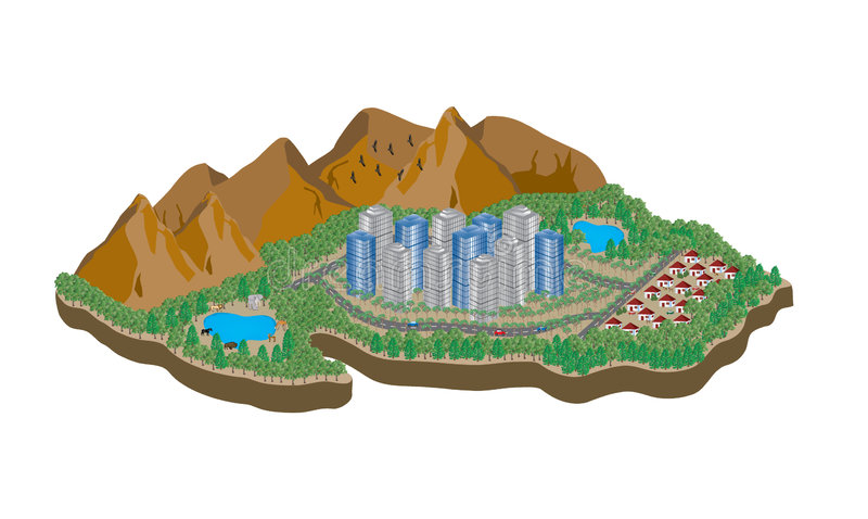 Console 2 dos desenhos animados ilustração do vetor