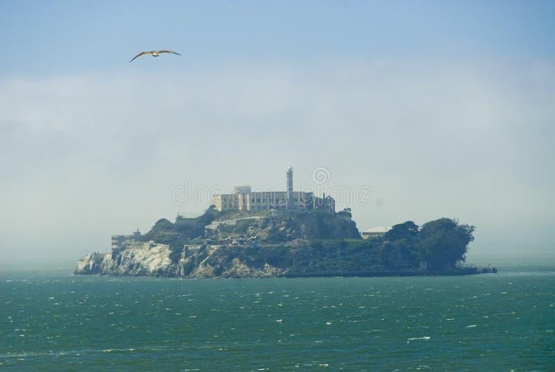 Console de Alcatraz, San Francisco fotografia de stock