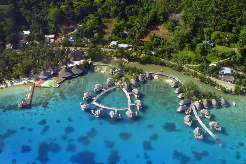 Console de Bora Bora foto de stock