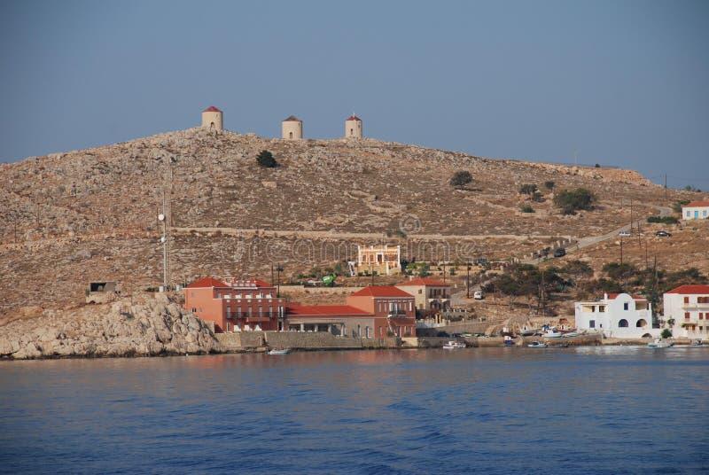 Console de Halki, Greece fotografia de stock royalty free