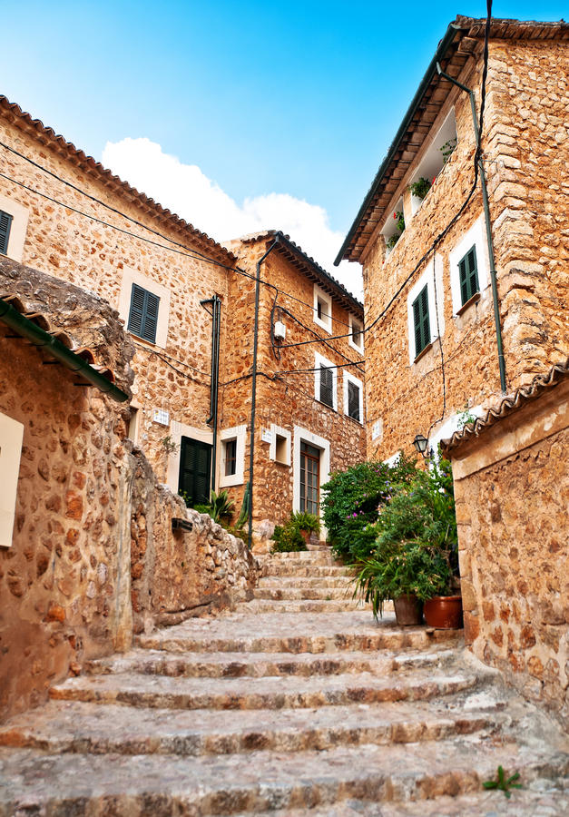 Console de Majorca, Spain foto de stock royalty free