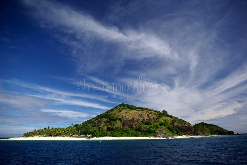 Console de Matamanoa, Fiji fotografia de stock