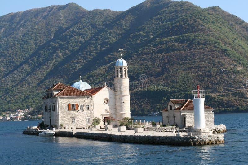 console de Montenegro foto de stock