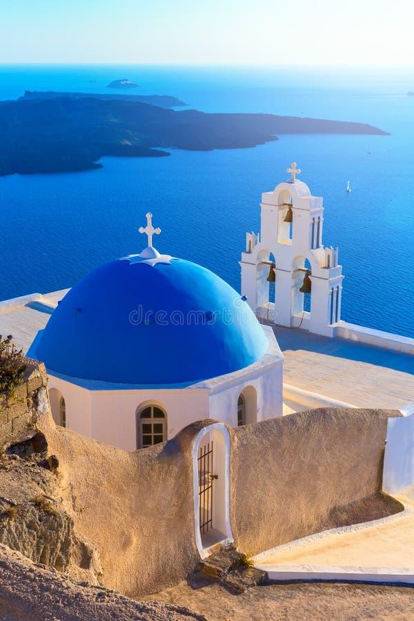 Console de Santorini, Greece fotos de stock royalty free