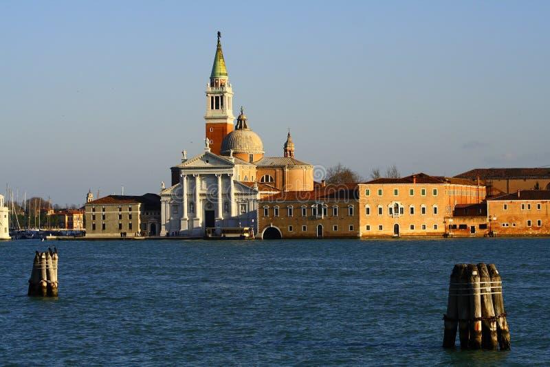 Console de St. Giorgio Maggiore fotografia de stock royalty free