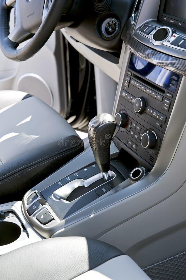 Console do carro imagem de stock royalty free