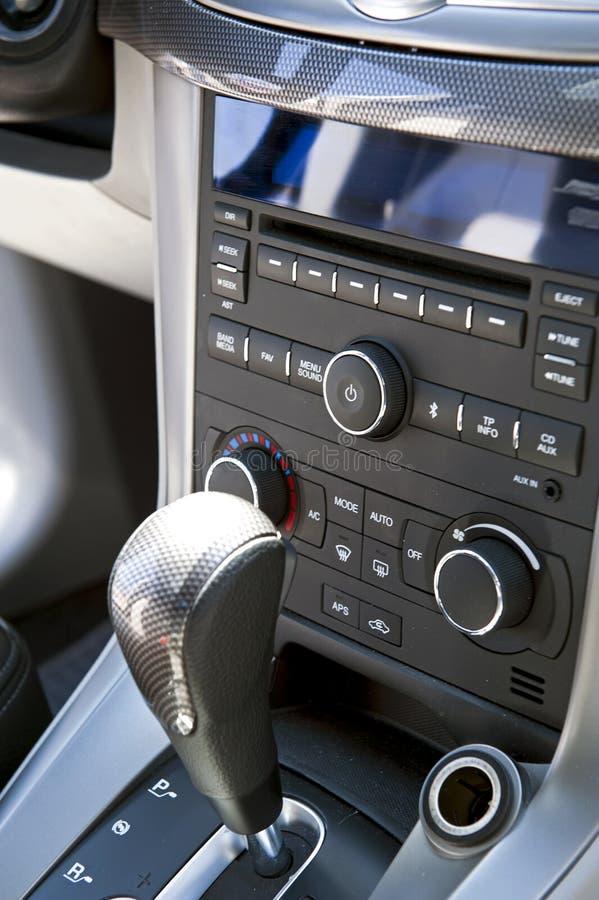 Console do carro imagens de stock royalty free