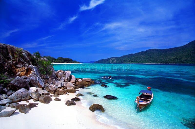 Console do paraíso, mar de Andaman, Tailândia fotos de stock