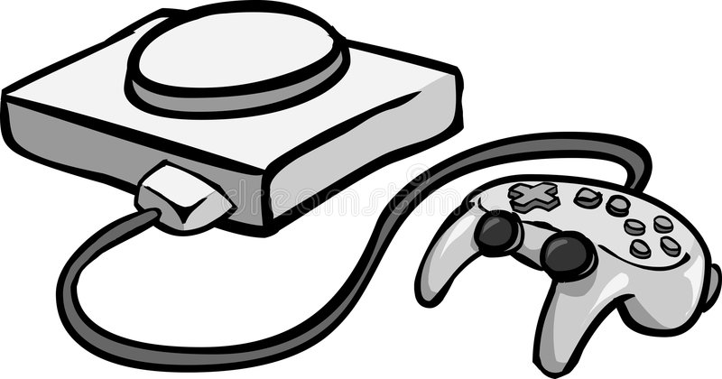 Download Console Game stock vector. Illustration of equipment, games - 2685720