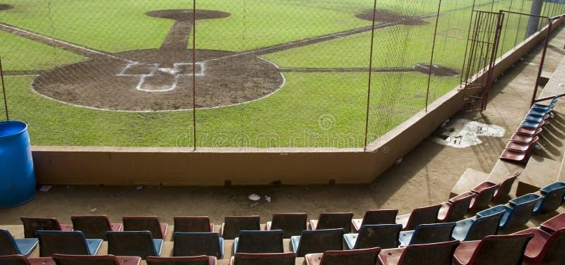 Console Nicarágua do milho do estádio de basebol imagens de stock