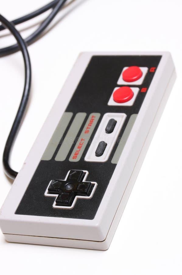 Console velho do jogo imagem de stock