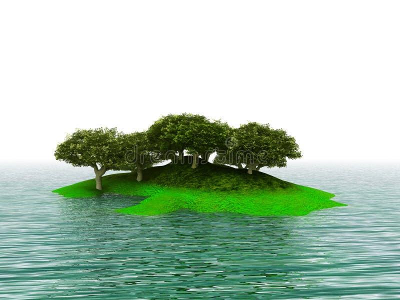 Console verde ilustração royalty free