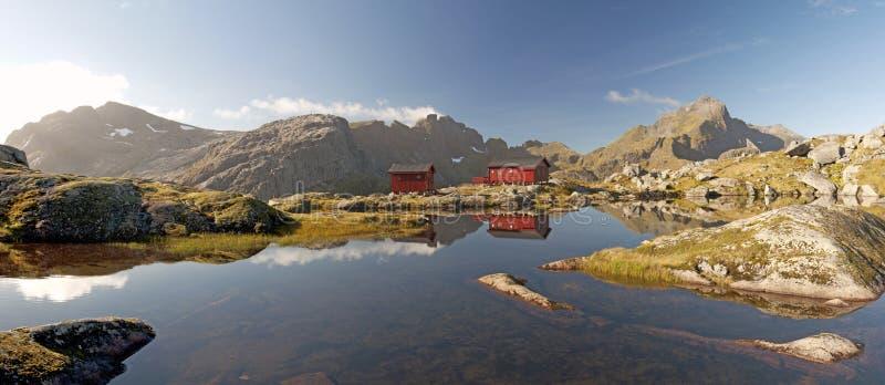 Consoles de Lofoten, Noruega foto de stock royalty free