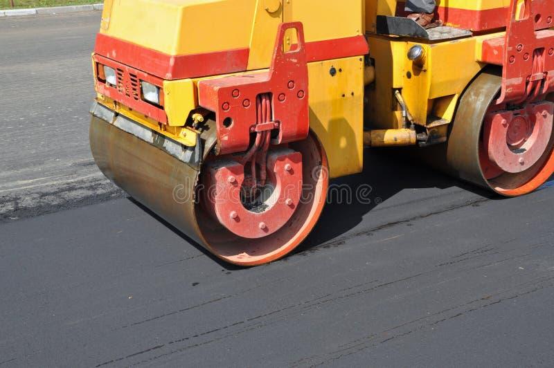 Consolidação do asfalto fotos de stock royalty free