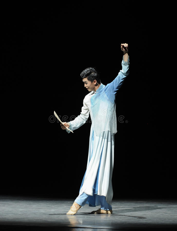 Consolidation music score-The prelude of dance drama-Shawan events of the past. Guangdong Shawan Town is the hometown of ballet music, the past focuses on the royalty free stock photo