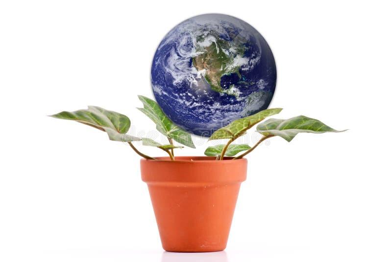Consolidazione del pianeta immagini stock libere da diritti