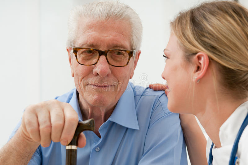 Consoling and care royalty free stock image