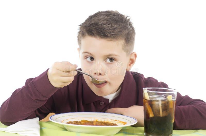 Consommation 5 d'enfant photos libres de droits