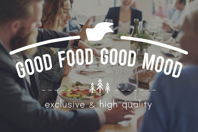 Consommation du concept de wagon-restaurant d'unité de réunion photographie stock