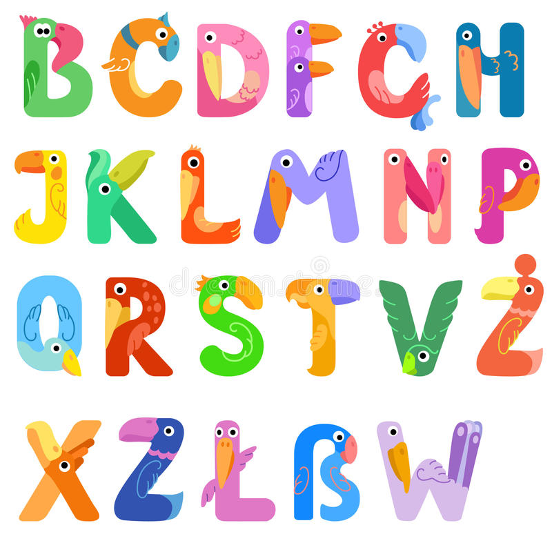 Consonant Letters Of The Alphabet