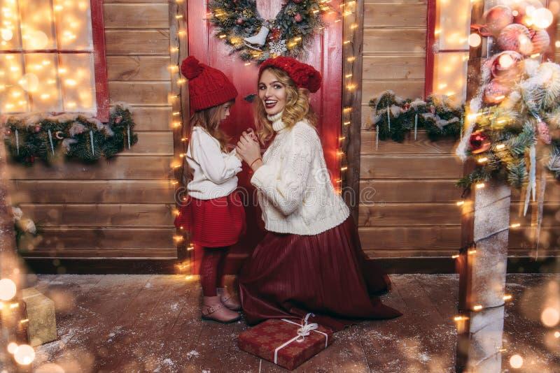 Conspiração mágica do Natal fotografia de stock