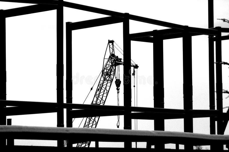 Consrtruction begins stock photography