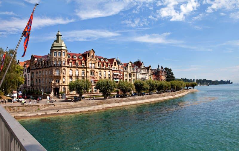 Constance, le Lac de Constance (Bodensee) images libres de droits