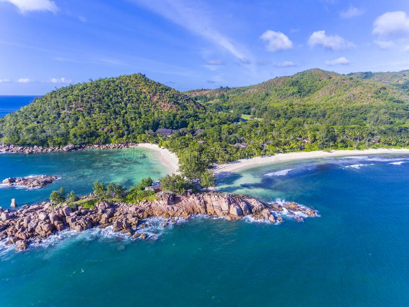 Constance Lemuria Hotel Seychelles Stock Photo Image Of