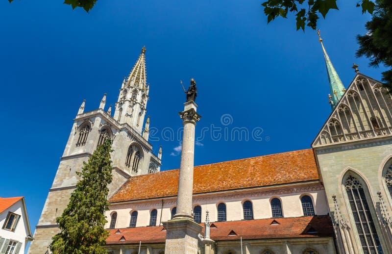 Constance Minster (cathédrale) - Allemagne images libres de droits
