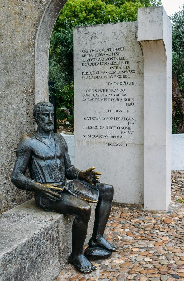 Memorial Monument To The Poet Camoes Stock Image - Image of