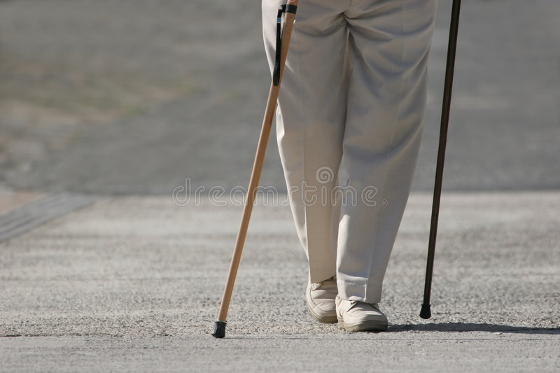 Download Constant Struggle stock image. Image of feet, disability - 4414161