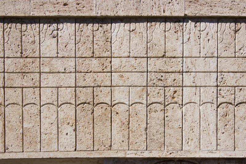 Constantin Brancusi's Kissing Gate details. Targu-Jiu, Romania royalty free stock photo