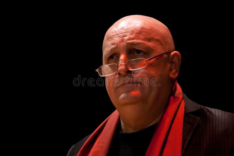 Constantin Cotimanis op stadium royalty-vrije stock afbeeldingen