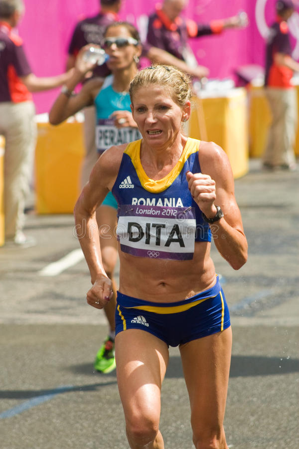 Download Constantina Dita At The Olympic Marathon Editorial Image - Image: 26100505