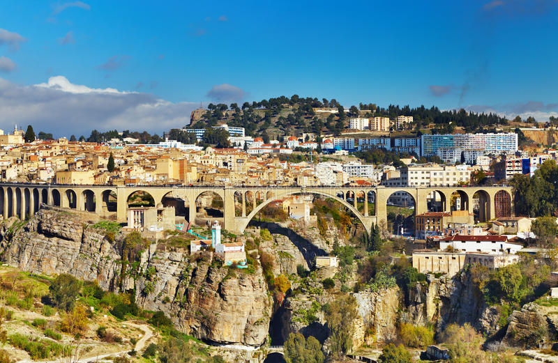 Download Constantine, Algeria stock image. Image of town, canyon - 19296695