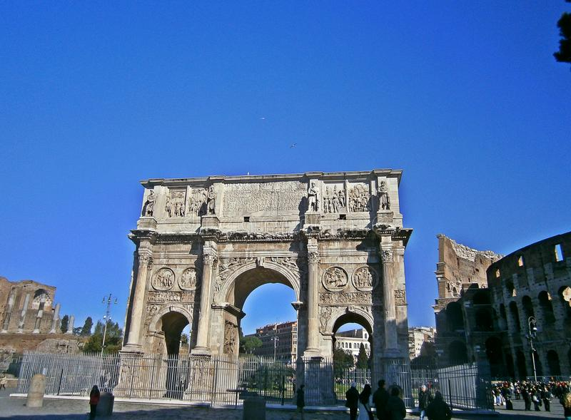 Constantine Arch stockfotos