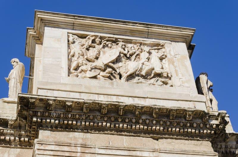 Constantine-Bogen in Rom stockfotografie