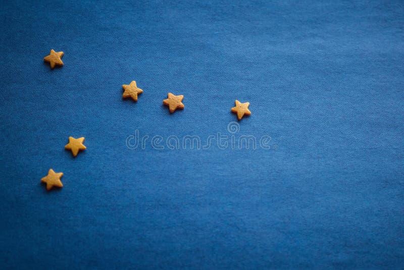 Constelação de câncer, horóscopo imagens de stock