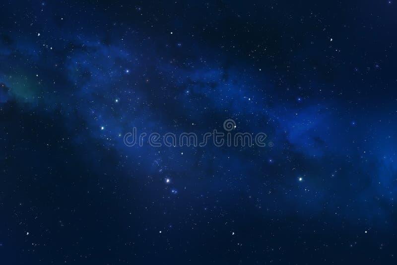 Constelação do universo com a nebulosa da galáxia das estrelas fotografia de stock royalty free
