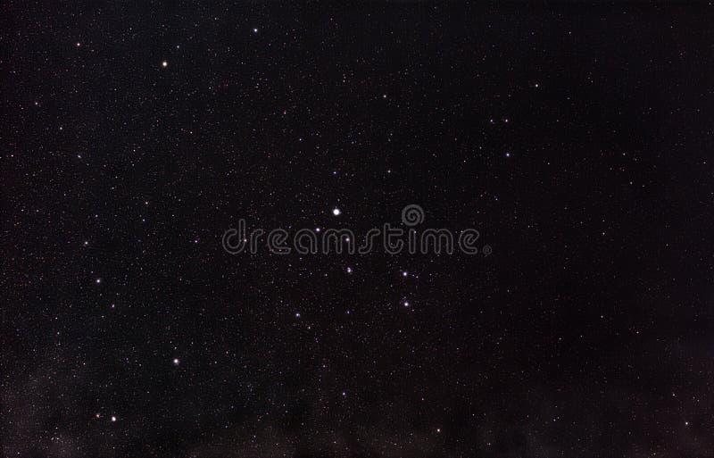 Constelação Lyra imagens de stock royalty free