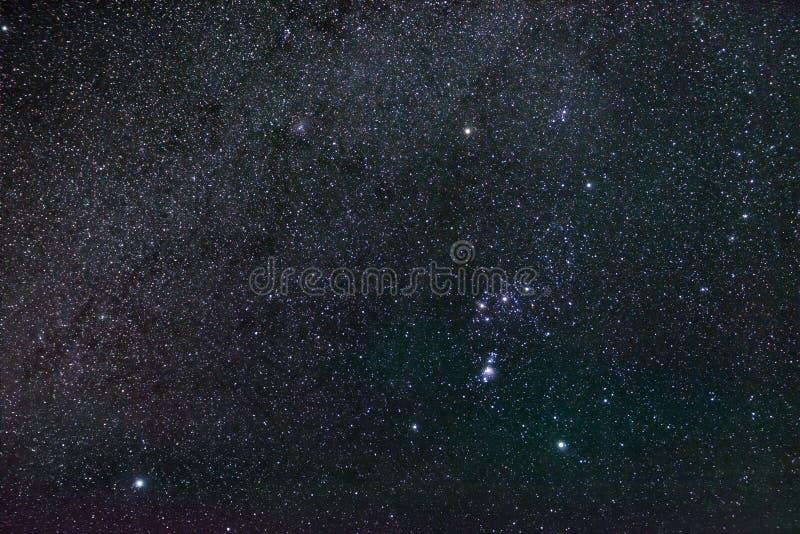Constelação Orion foto de stock royalty free