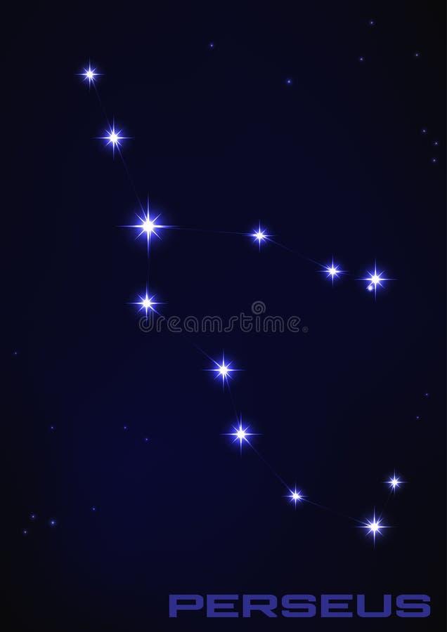 Constelación de Perseus libre illustration