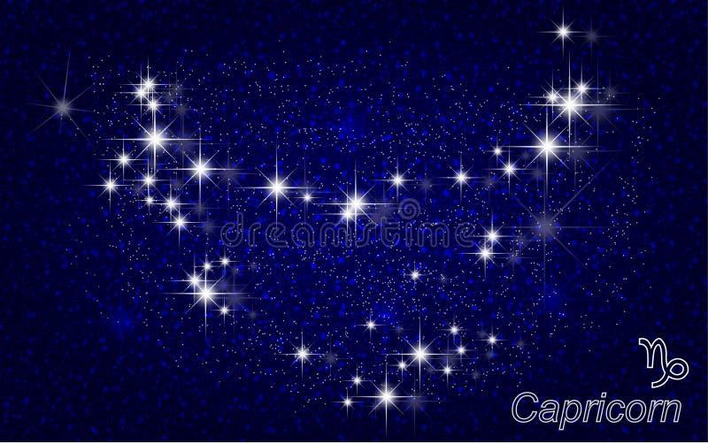 Constelación del Capricornio libre illustration