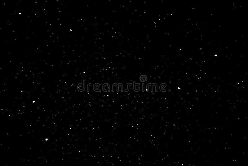 Constelación del cazo grande en la noche ilustración del vector