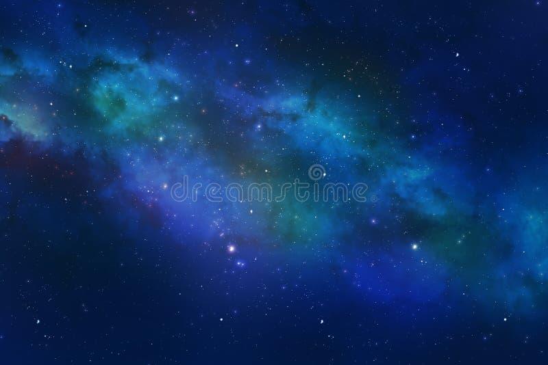 Constelación del universo con la nebulosa de la galaxia de las estrellas fotografía de archivo